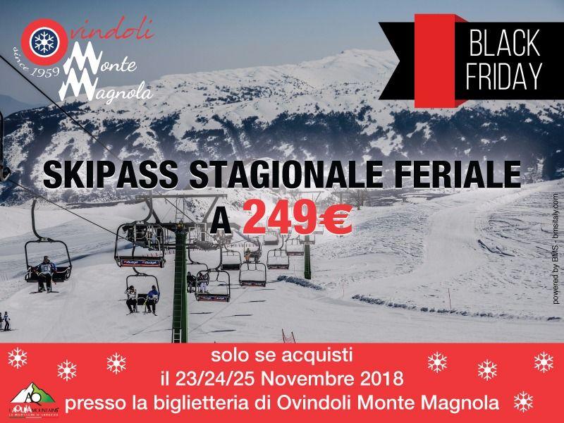 TORNA IL BLACK FRIDAY DI OVINDOLI MONTE MAGNOLA
