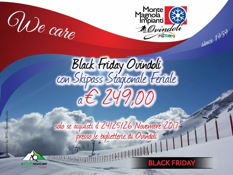 OVINDOLI BLACK FRIDAY