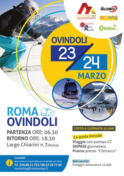 23/24 marzo Roma - Ovindoli