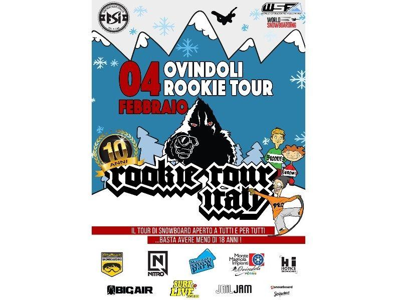 Domenica 4 Febbraio Ovindoli ospita la seconda tappa del Rookie Tour Italy 2018